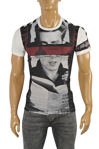 Mens Designer Clothes | DOLCE & GABBANA Men's T-Shirt #242