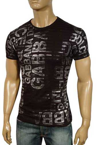 Mens Designer Clothes | DOLCE & GABBANA Men's Short Sleeve Tee #69