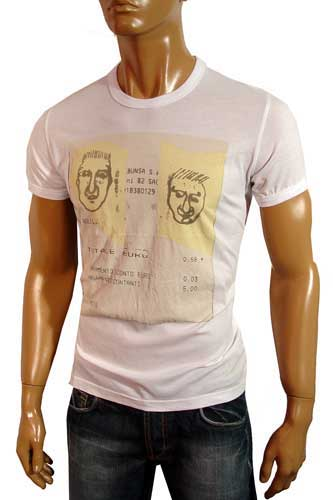 Mens Designer Clothes | DOLCE & GABBANA Men's Short Sleeve Tee #76