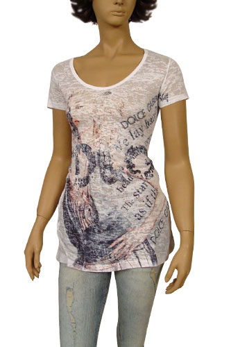 Womens Designer Clothes | DOLCE & GABBANA Ladies Short Sleeve Tunic #108