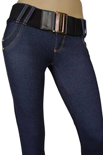 Womens Designer Clothes | DOLCE & GABBANA Ladies Skinny Leg JEANS With Belt #140