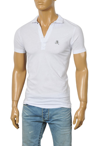 Mens Designer Clothes | DIESEL Men's Polo Shirt #4