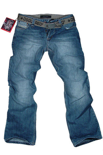 Mens Designer Clothes | DSQUARED JEANS WITH BELT #1, New with tags