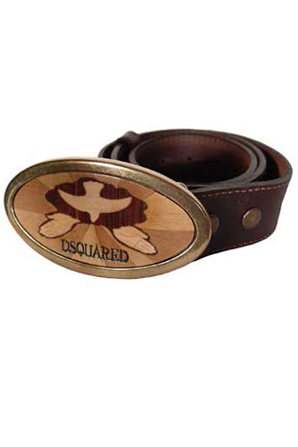 Mens Designer Clothes | DSQUARED Men's Leather Belt #13
