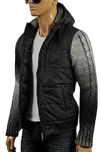 Mens Designer Clothes | DSQUARED Men's Warm Hooded Jacket #7