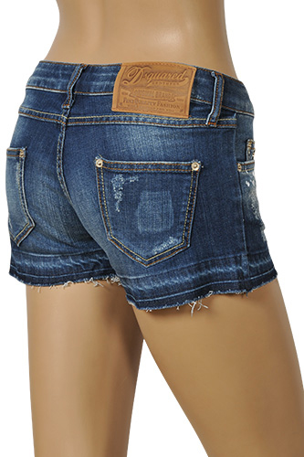 Womens Designer Clothes | DSQUARED Ladies' Jeans Shorts #43