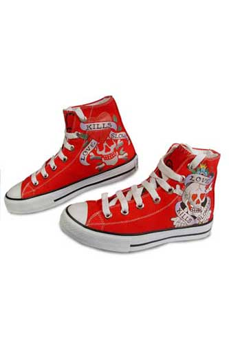 Designer Clothes Shoes | ED HARDY Ladies Sneaker Shoes #13