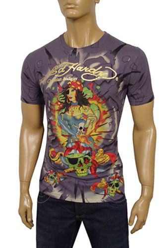 Mens Designer Clothes | ED HARDY By Christian Audigier Short Sleeve Tee #36