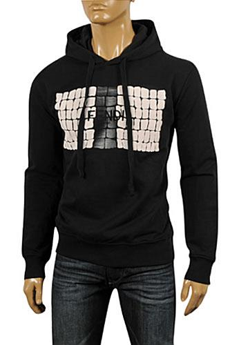 Mens Designer Clothes | FENDI Men's Cotton Hoodie #2