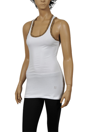Womens Designer Clothes | Fendi Ladies Sleeveless Top #3