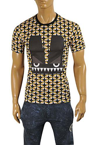 Mens Designer Clothes | FENDI Men's T-Shirt #17
