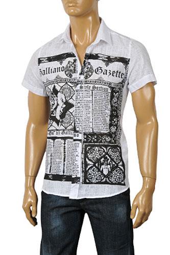 Man T-Shirt John Galliano - IV John Galliano QF39NUlGH