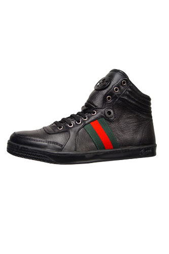 Designer Clothes Shoes | Gucci High Leather Boots #149