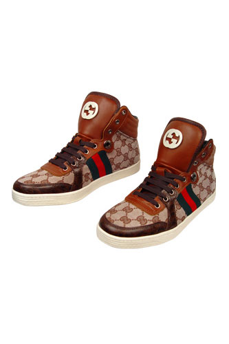 Designer Clothes Shoes | Gucci High Leather Boots #150
