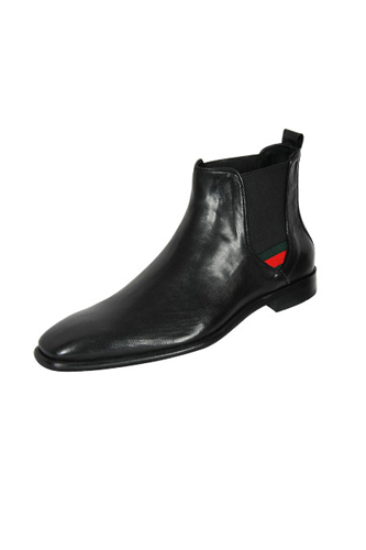 Designer Clothes Shoes | GUCCI High Leather Boots For Men #242