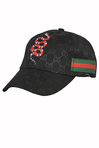Mens Designer Clothes | GUCCI Kingsnake embroidery GG baseball Hat #141