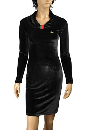 Womens Designer Clothes | GUCCI Cocktail Dress In Black  #344