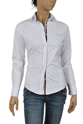 Womens Designer Clothes | GUCCI Ladies Dress Shirt #207