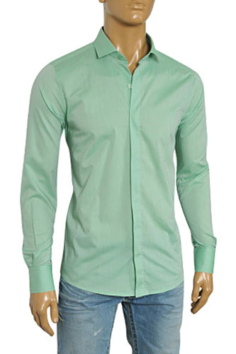 Mens Designer Clothes | GUCCI Men's Dress Shirt #236