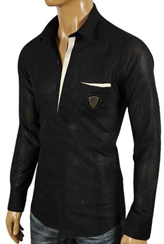 Mens Designer Clothes | GUCCI Men's Button Up Dress Shirt #301