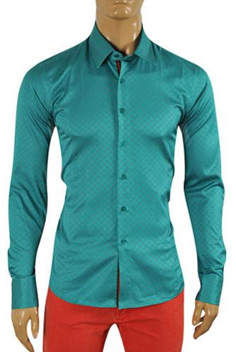 Designer Clothes | GUCCI Men's Button Up Dress Shirt #302