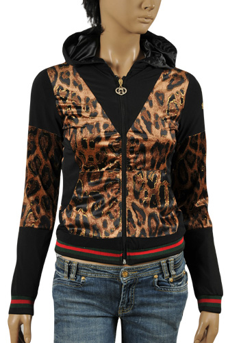 Womens Designer Clothes Gucci Ladies Zip Up Cotton