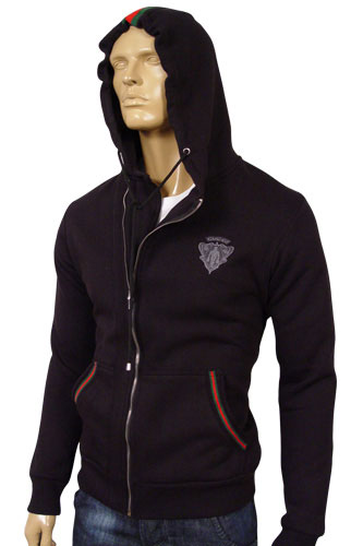 mens designer clothes gucci mens cotton hoodie 62. Black Bedroom Furniture Sets. Home Design Ideas