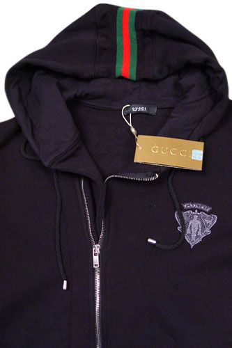 gucci mens cotton hoodie 62 this black gucci men s cotton hoodie is a ...