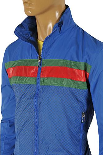 Mens Designer Clothes | GUCCI Men's Windbreaker Jacket #147