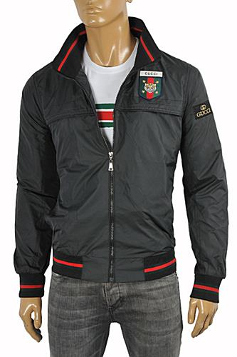 Mens Designer Clothes | GUCCI Men's Windbreaker Jacket #153