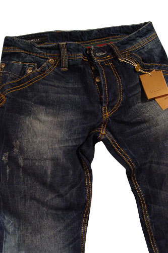 Jeans With Designs For Men