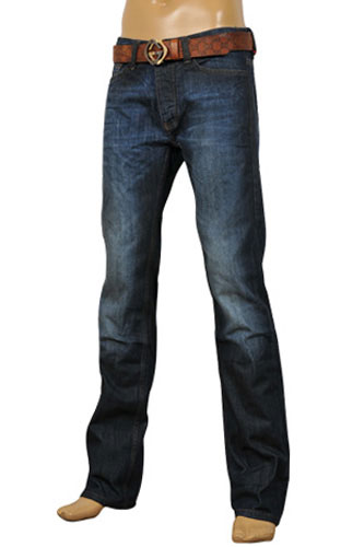 Mens Designer Clothes | GUCCI Menu0026#39;s Jeans With Belt #58