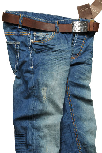 Mens Designer Clothes | GUCCI Men's Jeans With Belt #73
