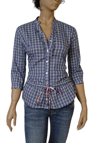 Womens Designer Clothes | GUCCI Ladies Button Up Shirt #160