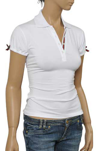 Womens Designer Clothes | GUCCI Ladies Polo Shirt #251