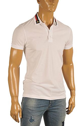 Mens Designer Clothes | GUCCI Men's Polo Shirt #0352