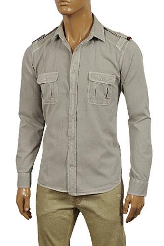 Mens Designer Clothes Gucci Men S Button Up Casual Shirt