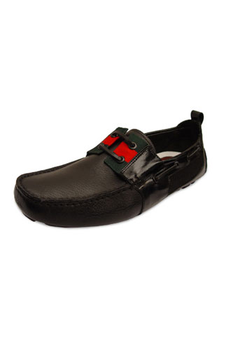 Designer Clothes Shoes | GUCCI Leather Summer Shoes for Men #125