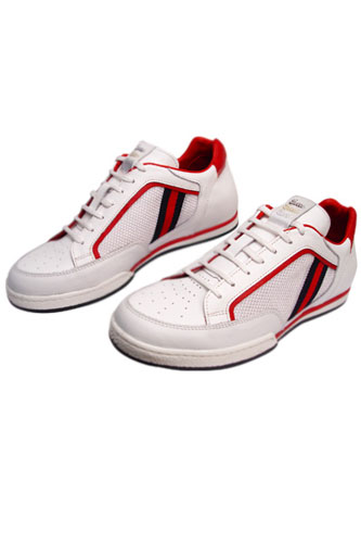Designer Clothes Shoes | GUCCI Leather Mens Sneakers Shoes #182