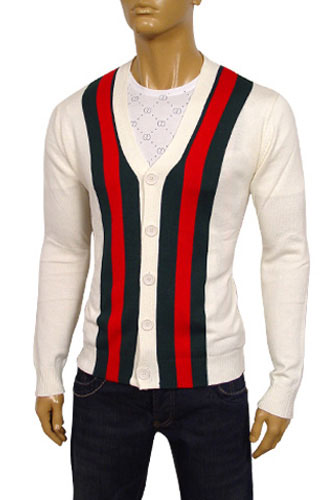 Mens Designer Clothes Gucci Mens V Neck Button Up