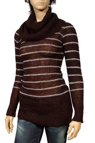 Womens Designer Clothes | GUCCI Ladies Cowl Neck Long Sweater #7