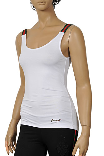 Womens Designer Clothes | GUCCI Ladies Sleeveless Top #103