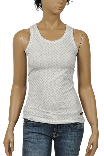 Womens Designer Clothes | GUCCI Ladies Sleeveless Top #139
