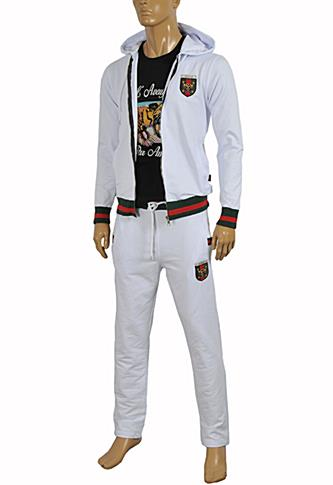 Mens Designer Clothes | GUCCI Men's Zip Up Tracksuit #151