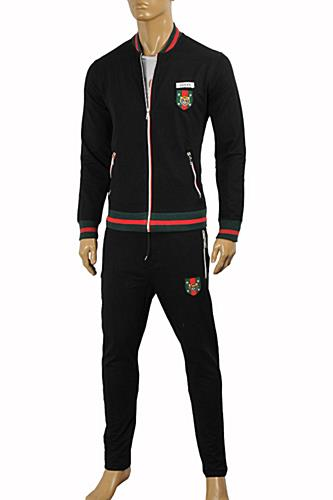 Mens Designer Clothes | GUCCI Men's Zip Up Jogging Suit #159