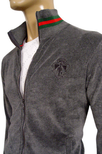 Mens Grey Long Sleeve Shirt