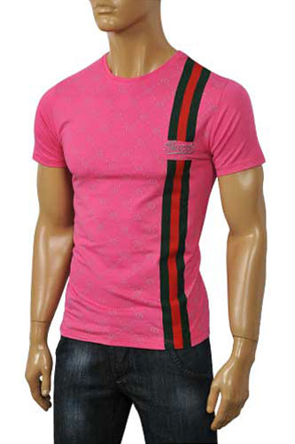 Mens Designer Clothes | GUCCI Men's Short Sleeve Tee #124