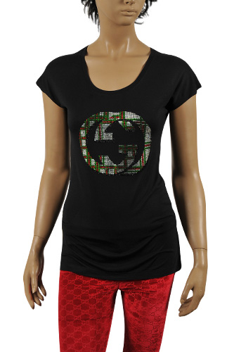 Womens Designer Clothes | GUCCI Ladies' Short Sleeve Top/Tunic #165