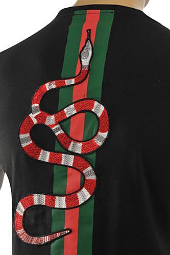 Mens Designer Clothes Gucci Men S T Shirt Black 203