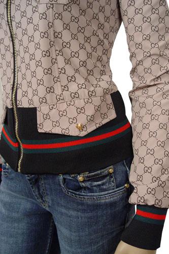 Womens Designer Clothes | GUCCI Ladies Zip Jacket #43 View 4